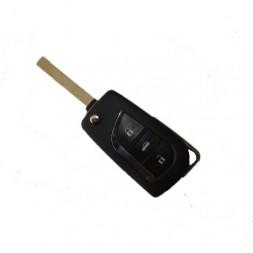 Κέλυφος Κλειδιού Toyota με 3 Κουμπιά και Λάμα VA2
