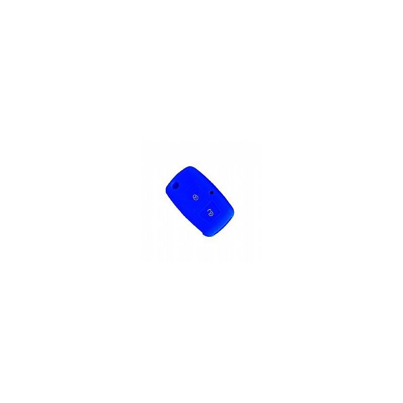 Θήκη Σιλικόνης Volkswagen-Seat-Skoda Μπλε