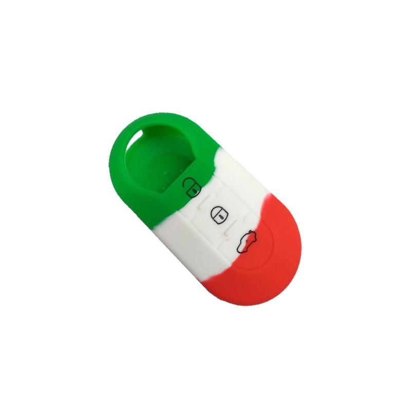 Θήκη Σιλικόνης Fiat-Lancia Italy Flag