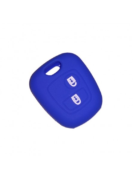 Θήκη Σιλικόνης Κλειδιού Peugeot-Citroen-Toyota Μπλε