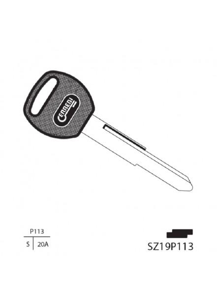 Απλό Κλειδί και Λάμα SZ19P113