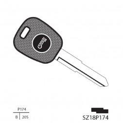 Απλό Κλειδί και Λάμα SZ138P (HU87RP)