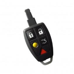 Κέλυφος Κλειδιού Volvo για το Smart Key με 5 Κουμπιά και Λάμα HU101