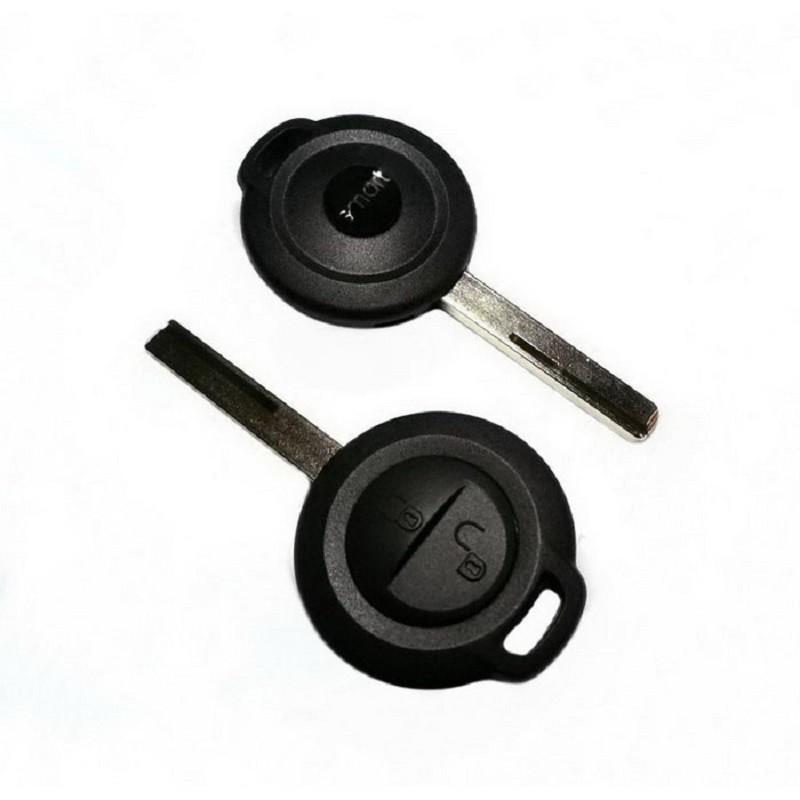 Κέλυφος Κλειδιού Smart με 2 Κουμπιά και Λάμα HU56R (Forfour)