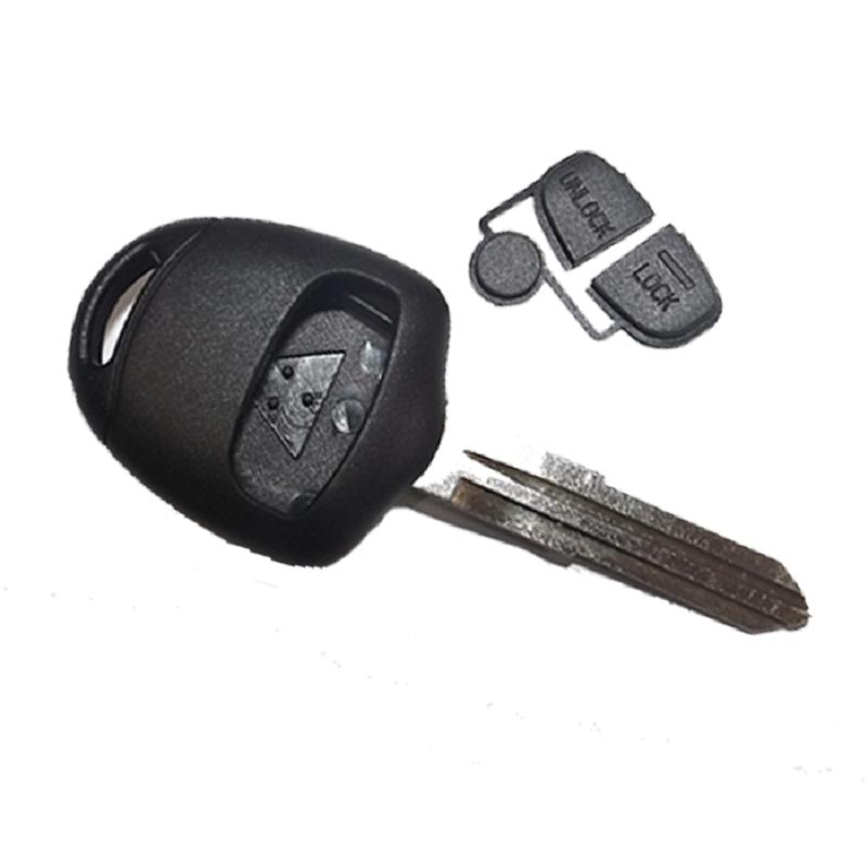 Κέλυφος Κλειδιού Mitsubishi με 2 Κουμπιά και Λάμα MIT11R