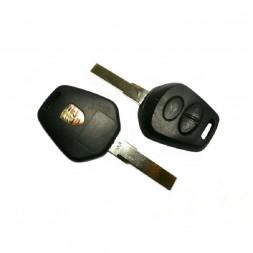 Κέλυφος Κλειδιού Porsche με 3 Κουμπιά και Λάμα HU66