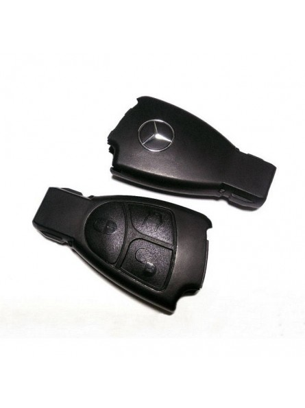 Κέλυφος Κλειδιού Mercedes για το Smartkey με 3 Κουμπιά