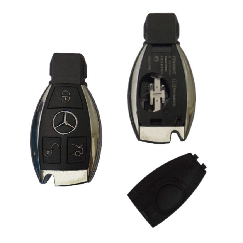 Κέλυφος Κλειδιού Mercedes για το Νέο Smart Key με 3 Κουμπιά