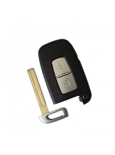 Κέλυφος Κλειδιού Hyundai - Kia για Smart Key με 2 Κουμπιά και Λάμα TΟΥ48