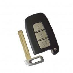 Κέλυφος Κλειδιού Hyundai - Kia για Smart Key με 3 Κουμπιά και Λάμα TΟΥ48