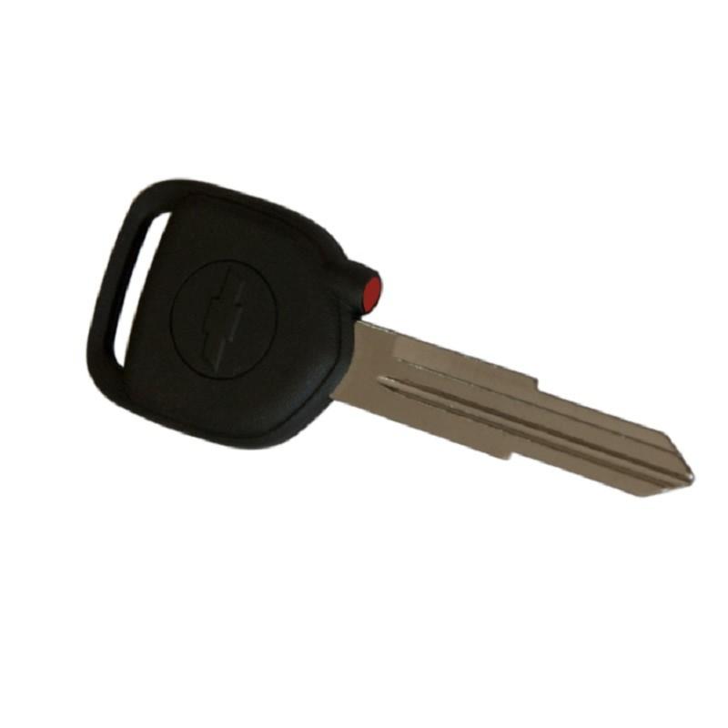 Original Κλειδί Immobilizer Chevrolet Spark με ID8E Chip και Λάμα DW06 (με Κόκκινη Τάπα για το Chip)