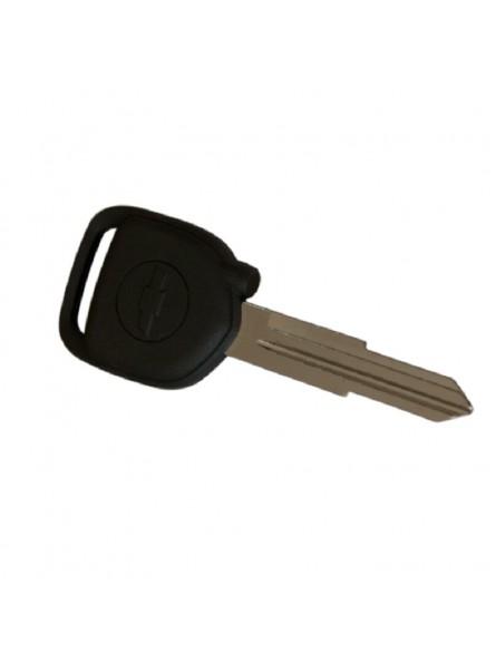 Original Κλειδί Immobilizer Chevrolet Spark με ID8E Chip και Λάμα DW06 (με Μαύρη Τάπα για το Chip)