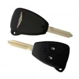 Κέλυφος Κλειδιού Chrysler με 2 Κουμπιά και Λάμα Y160 Type 1 (με Λαστιχάκι)
