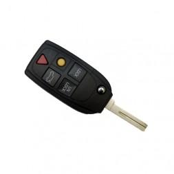 Κέλυφος Κλειδιού Volvo με 5 Κουμπιά και Λάμα NE66