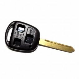Κέλυφος Κλειδιού Toyota με 3 Κουμπιά και Λάμα TOY47