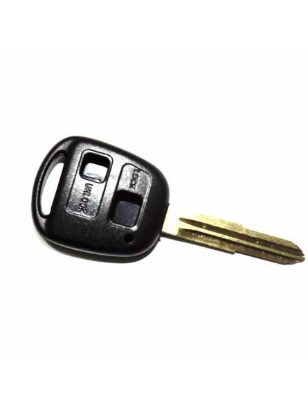 Κέλυφος Κλειδιού Toyota με 2 Κουμπιά και Λάμα TOY41R