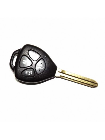 Κέλυφος Κλειδιού Toyota με 4 Κουμπιά και Λάμα TOY43