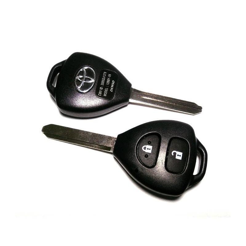 Κέλυφος Κλειδιού Toyota με 2 Κουμπιά και Λάμα TOY47
