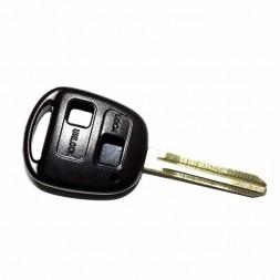 Κέλυφος Κλειδιού Toyota με 2 Κουμπιά και Λάμα TOY43