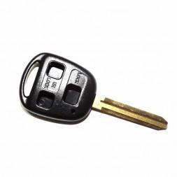 Κέλυφος Κλειδιού Toyota με 3 Κουμπιά και Λάμα TOY43