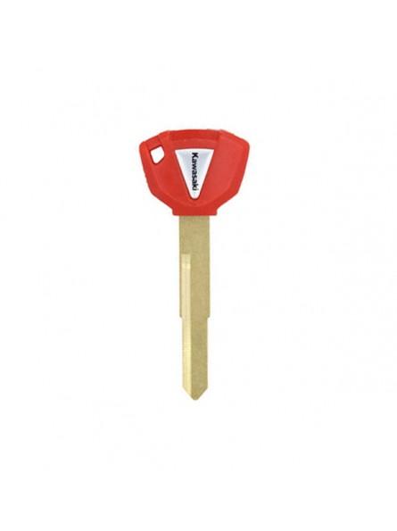 Κενό Immobilizer Κλειδί Kawasaki με Υποδοχή για Chip - Κόκκινο