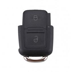 Κέλυφος Κλειδιού Αυτοκινήτου Volkswagen (Group Vag) με 2 Κουμπιά Τετράγωνο