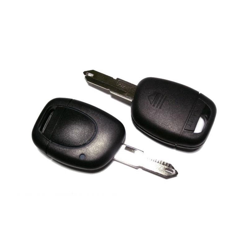 Κέλυφος Κλειδιού Renault με 1 Κουμπί για Kangoo με Λάμα NE73