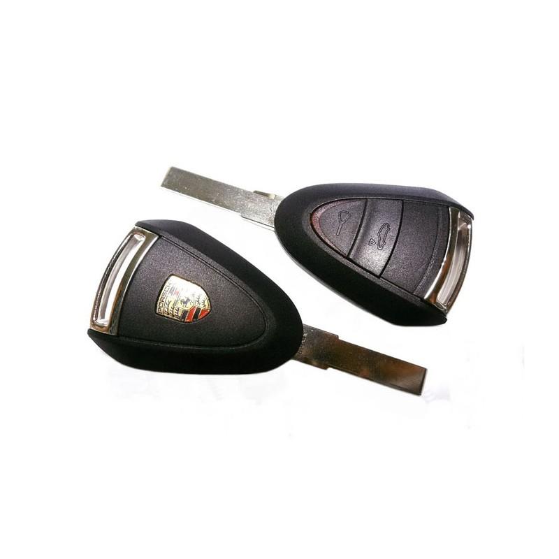 Κέλυφος Κλειδιού Porsche με 2 Κουμπιά και Λάμα HU66