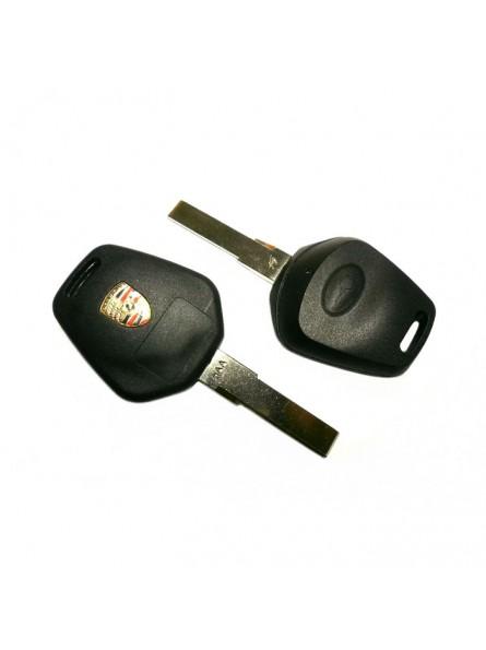 Κέλυφος Κλειδιού Porsche με 1 Κουμπί και Λάμα HU66