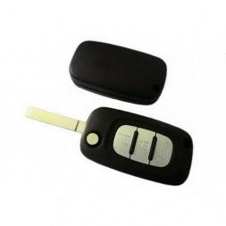 Κέλυφος Κλειδιού Renault -Smart με 3 Κουμπιά και Λάμα VA2