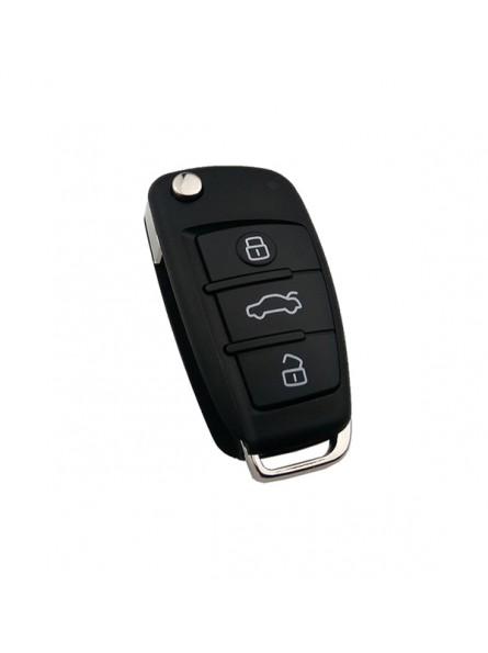 Τηλεχειριστήριο Audi με 3 Κουμπιά Αναδιπλούμενο