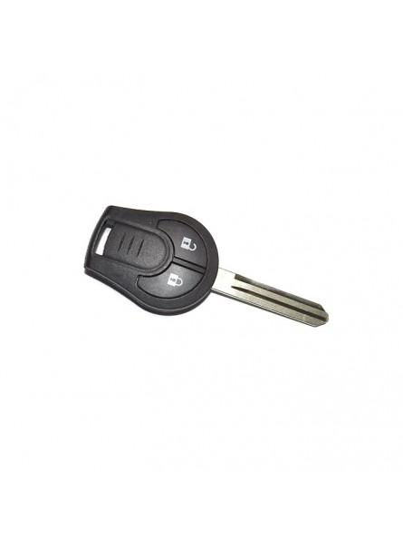 Κέλυφος Κλειδιού Nissan για Micra K13 με 2 Κουμπιά και Λάμα NSN14