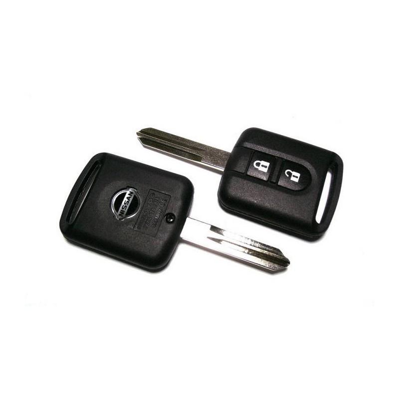 Κέλυφος Κλειδιού για Control Nissan Τετράγωνο και Λάμα NSN14 (Micra-Note-Navara-Qashqai)