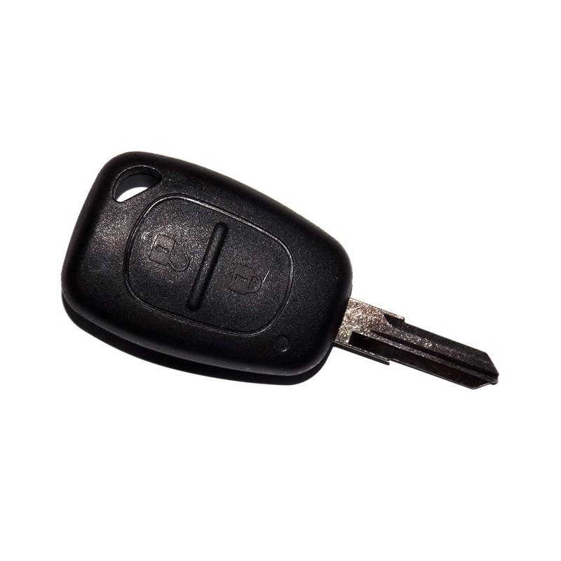 Κέλυφος Κλειδιού Renault-Nissan-Opel με 2 Κουμπιά και Λάμα VAC102