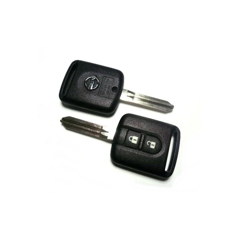 Τηλεχειριστήριο Nissan με 2 Κουμπιά και ID46 Chip (PCF7946)