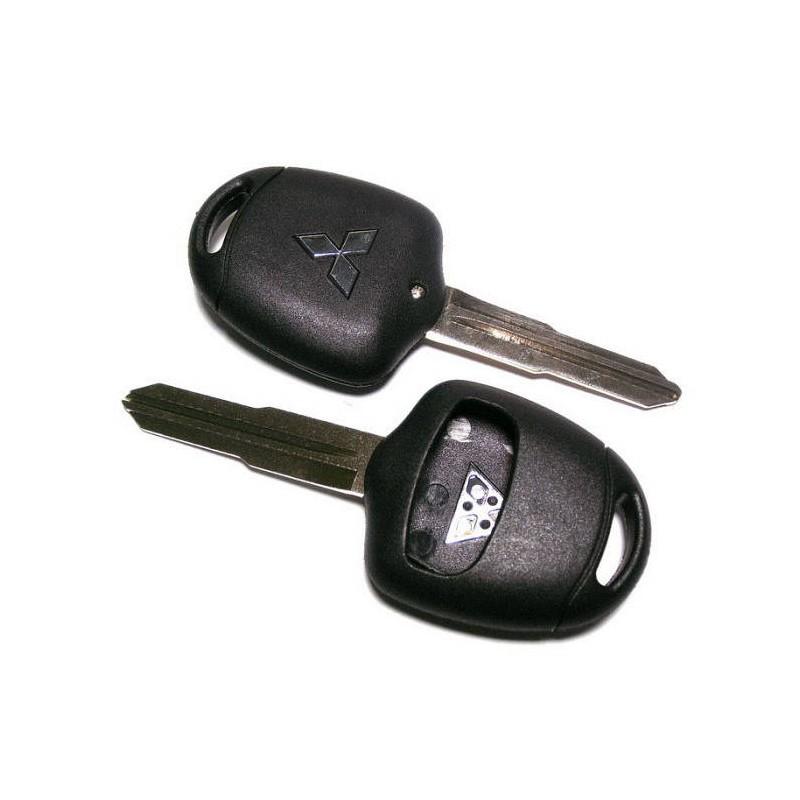 Κέλυφος Κλειδιού Mitsubishi με 2 Κουμπιά και Λάμα MIT8