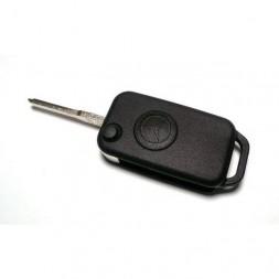 Κέλυφος Κλειδιού Mercedes με 1 Κουμπί και Λάμα HU64