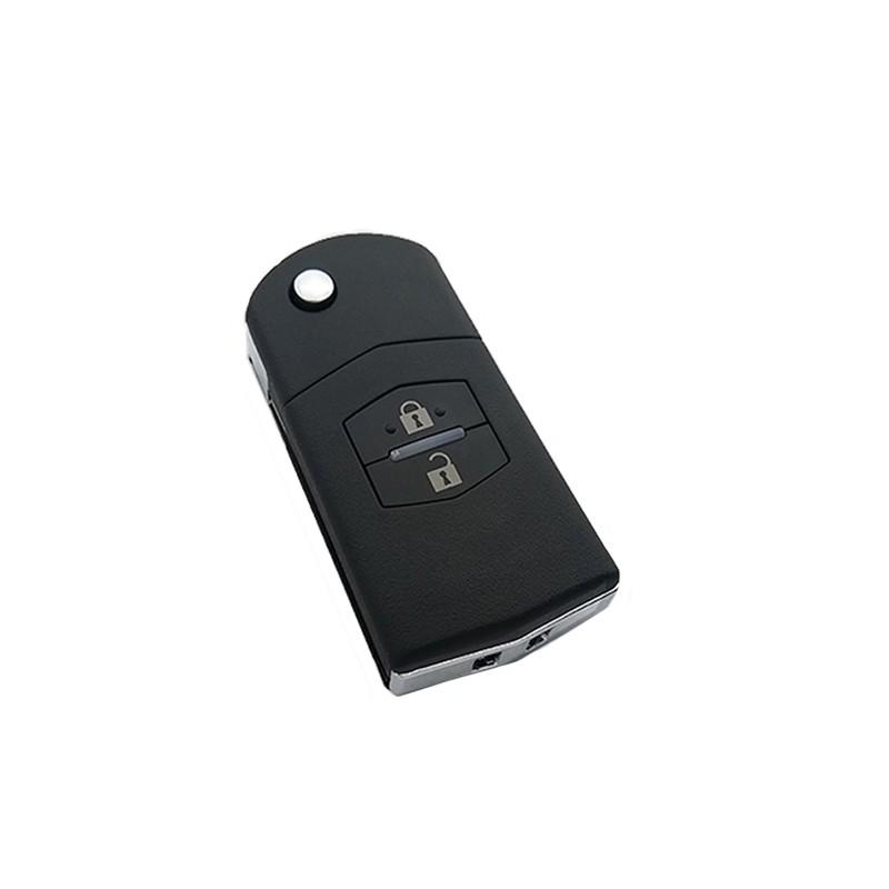 Τηλεχειριστήριο Mazda με 2 Κουμπιά Αναδιπλούμενο και ID63 Chip
