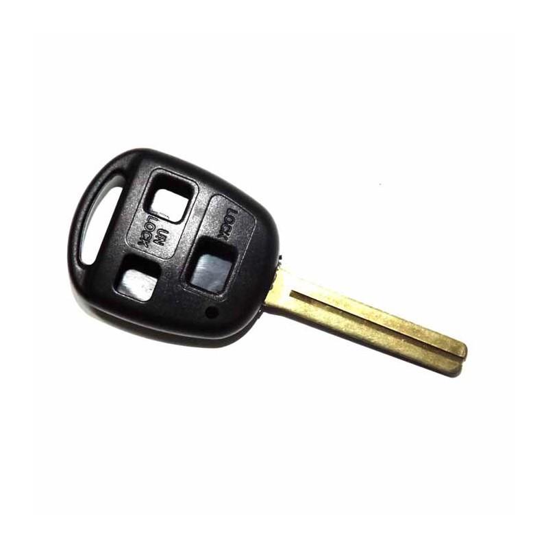 Κέλυφος Κλειδιού Lexus με 3 Κουμπιά και Λάμα TOY40