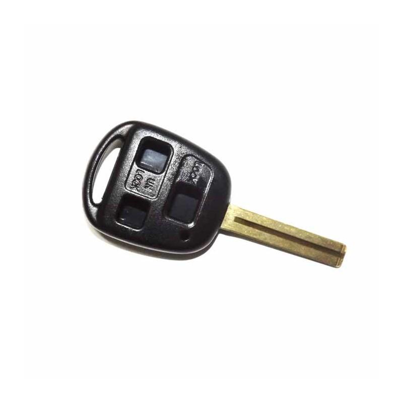 Κέλυφος Κλειδιού Lexus με 3 Κουμπιά και Λάμα TOY48