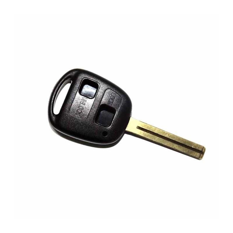 Κέλυφος Κλειδιού Lexus με 2 Κουμπιά και Λάμα TOY40