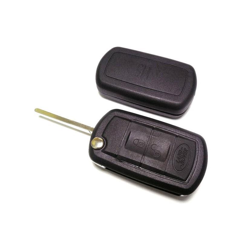 Κέλυφος Κλειδιού Land Rover με 3 Κουμπιά και Λάμα HU101