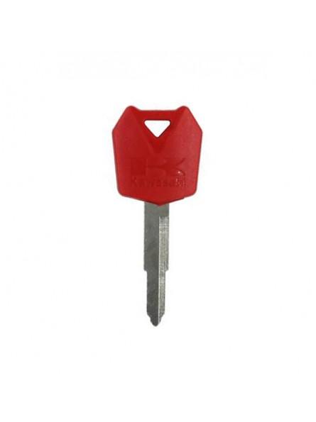 Κενό Immobilizer Κλειδί Kawasaki με Υποδοχή για Chip και Λάμα KW16T00 - Κόκκινο