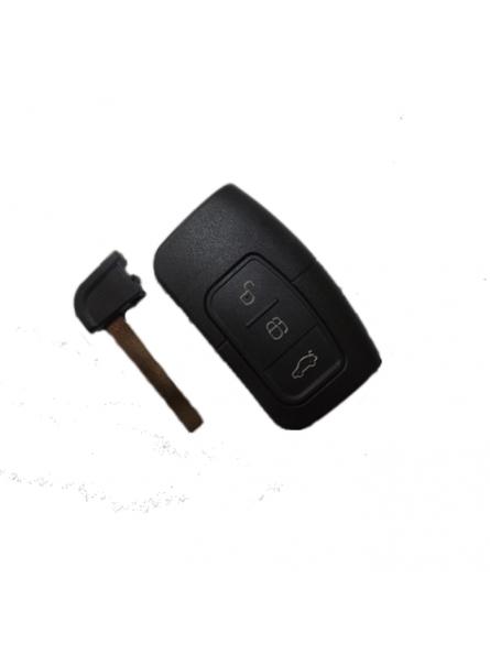 Κέλυφος Κλειδιού Ford για το Smart Key με 3 Κουμπιά και Λάμα HU101