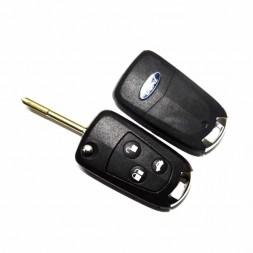 Κέλυφος Κλειδιού Ford με 3 Κουμπιά και Λάμα FO21