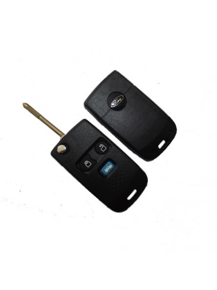 Κέλυφος Κλειδιού Ford με 3 Κουμπιά