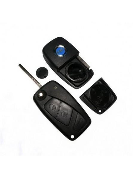 Κέλυφος Κλειδιού Fiat με 3 Κουμπιά για το Panda και Λάμα SIP22