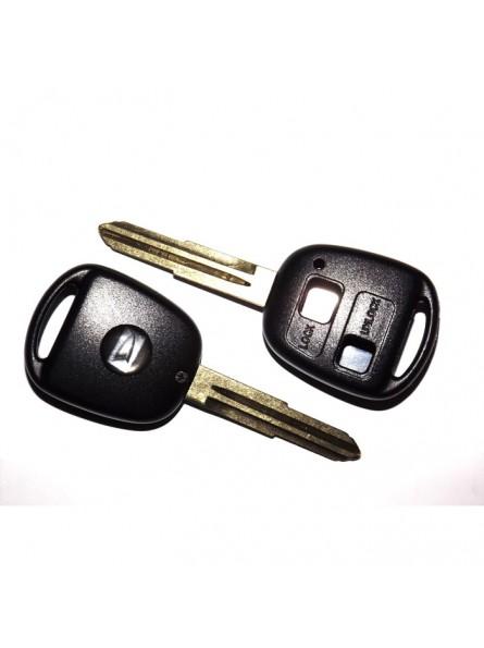 Κέλυφος Κλειδιού Daihatsu με 2 Κουμπιά και Λάμα ΤΟΥ41R
