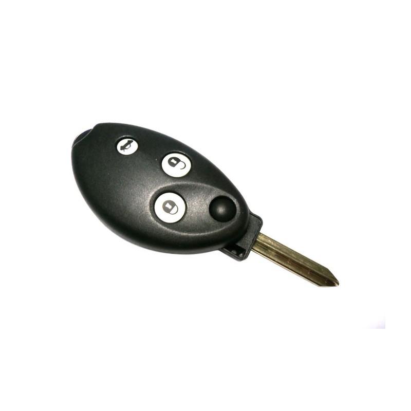 Κέλυφος Κλειδιού Citroen C5 με 3 Κουμπιά
