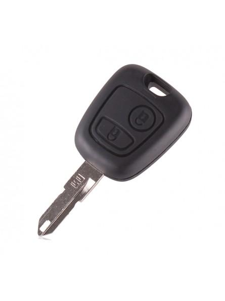 Κέλυφος Κλειδιού Αυτοκινήτου Citroen (C1, C2, C3, C4, C5, Xsara, Picasso, Saxo, Berlingo) με 2 Κουμπιά